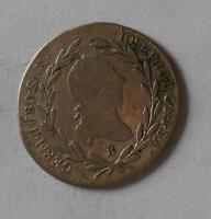 Uhry 10 Krejcar 1788 B Josef II.