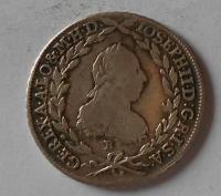 Uhry 20 Krejcar 1778 B Josef II.