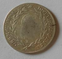 Uhry 20 Krejcar 1788 B Josef II.