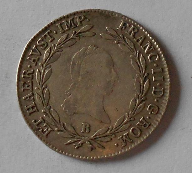 Uhry 20 Krejcar 1805 B František II.