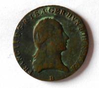 Uhry 3 Krejcar 1800 B František II.