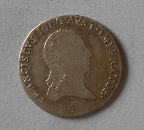 Uhry 3 Krejcar 1818 B František II.