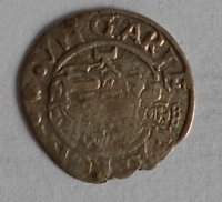 Uhry Denár 1568 KB Maxmilián II.