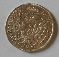 Uhry XV. Krejcar 1750 KB Fr. Lotrinský