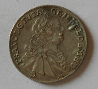 Uhry XVII. Krejcar 1758 KB Fr. Lotrinský