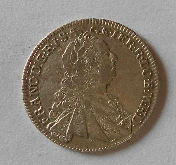 Uhry XVII. Krejcar 1762 KB Fr. Lotrinský
