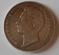 Würtenberg 2 Gulden 1848 Wilhelm ouško
