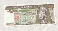 1/2 Centavos, 1987, Guatemala