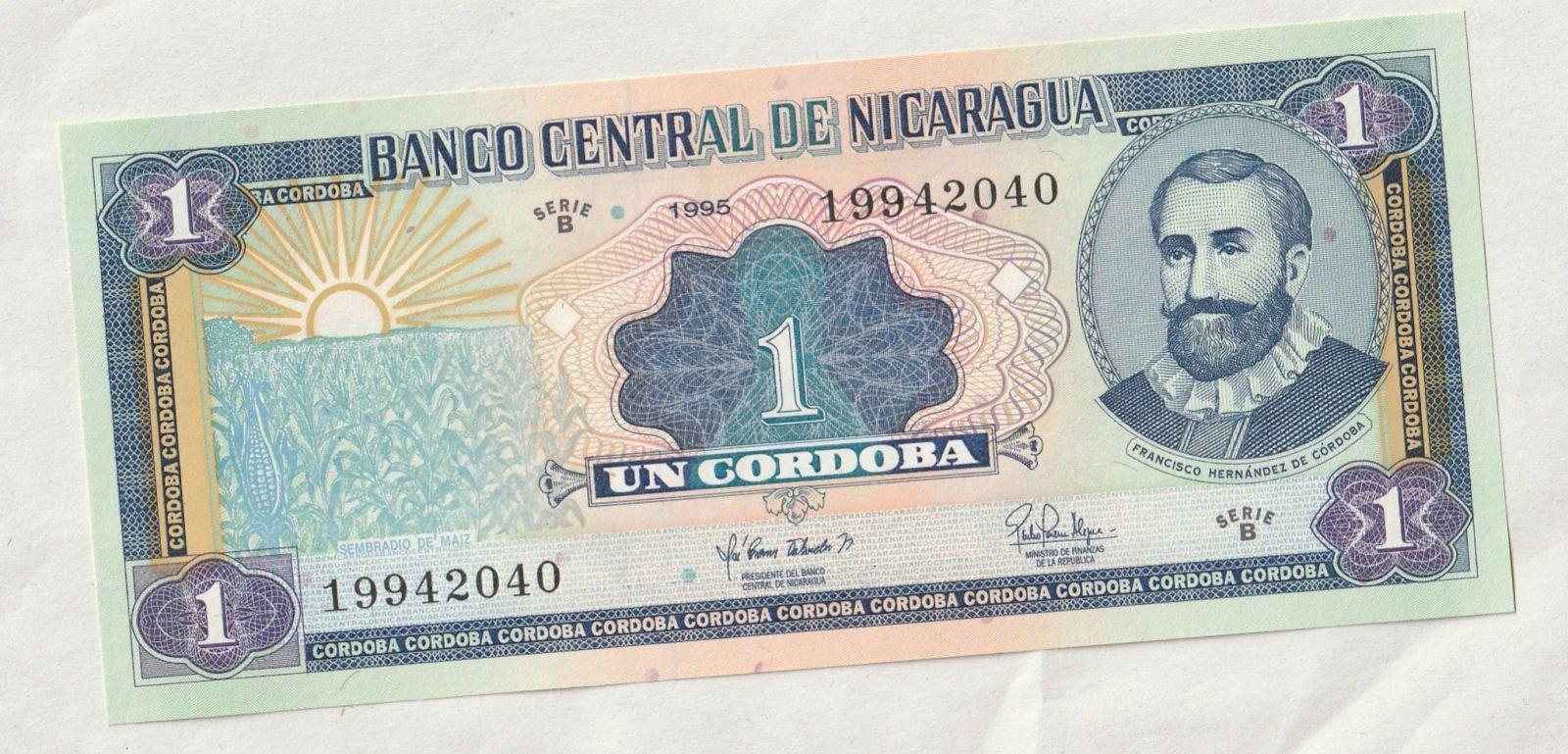 1 Cordoba, 1995, Nikaragua