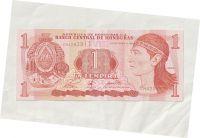 1 Lempiras, 1998, Honduras