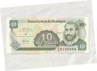 10 Centavo-Cordoba, Nikaragua