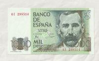 1000 Pesetas, 1979, Španělsko