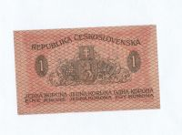 1Kč/1919/, stav 0, série 254, zelená