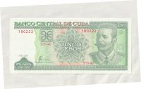 5 Pesos, 2001, Kuba