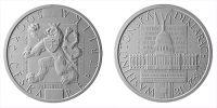 500 Kč(2018-Přijetí Washingtonské deklarace), stav PROOF, etue a certifikát