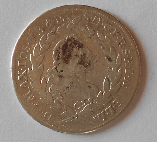 Bavorsko 20 Krejcar 1766
