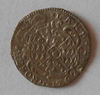 Bavorsko 3 Krejcar 1735 Karel Albert