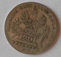 Bayrevth 20 Krejcar 1765 Frid. Christ.
