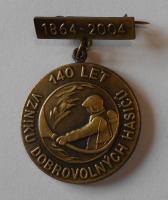 ČSR 140 let vzniku dobrovolných hasičů