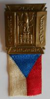 ČSR Slet sokola v Kladně 1930, těžký kov