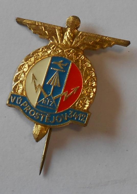 ČSR Vojenský ústav 3412 1918-58 Prostějov