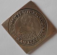 Nisa 1/2 Tolar 1622 Karel Rakous. Biskupství, novoražba