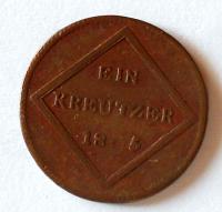 Salzburg Krejcar 1805 Ferdinand I. arcibiskupství