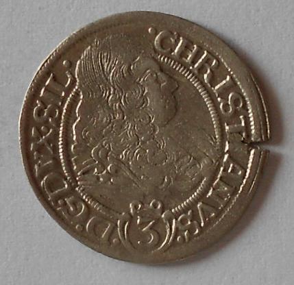 Slezsko 3 Krejcar 1669 Christián