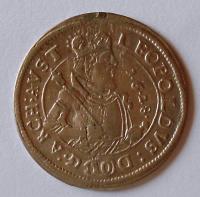 Tyrol 10 Krejcar 1628 Arcivévoda Leopold, měl ouško