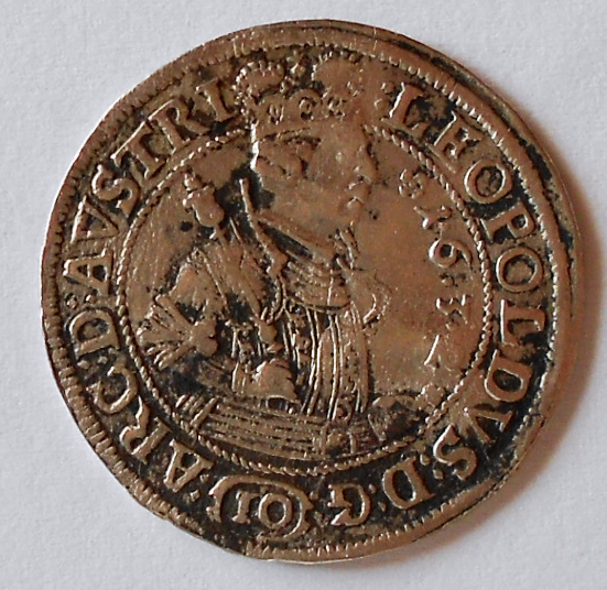 Tyrol 10 Krejcar 1632 Arcivévoda Leopold