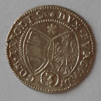 Tyrol 3 Krejcar 1640 Arcivévoda Ferdinand Karel