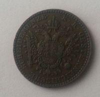 1/2 Krejcar, 1851, A, Rakousko