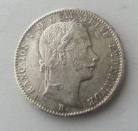 1/4 Fl.,1859, B, Uhry