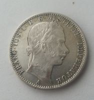 1/4 Fl.,1861,A, Rakousko