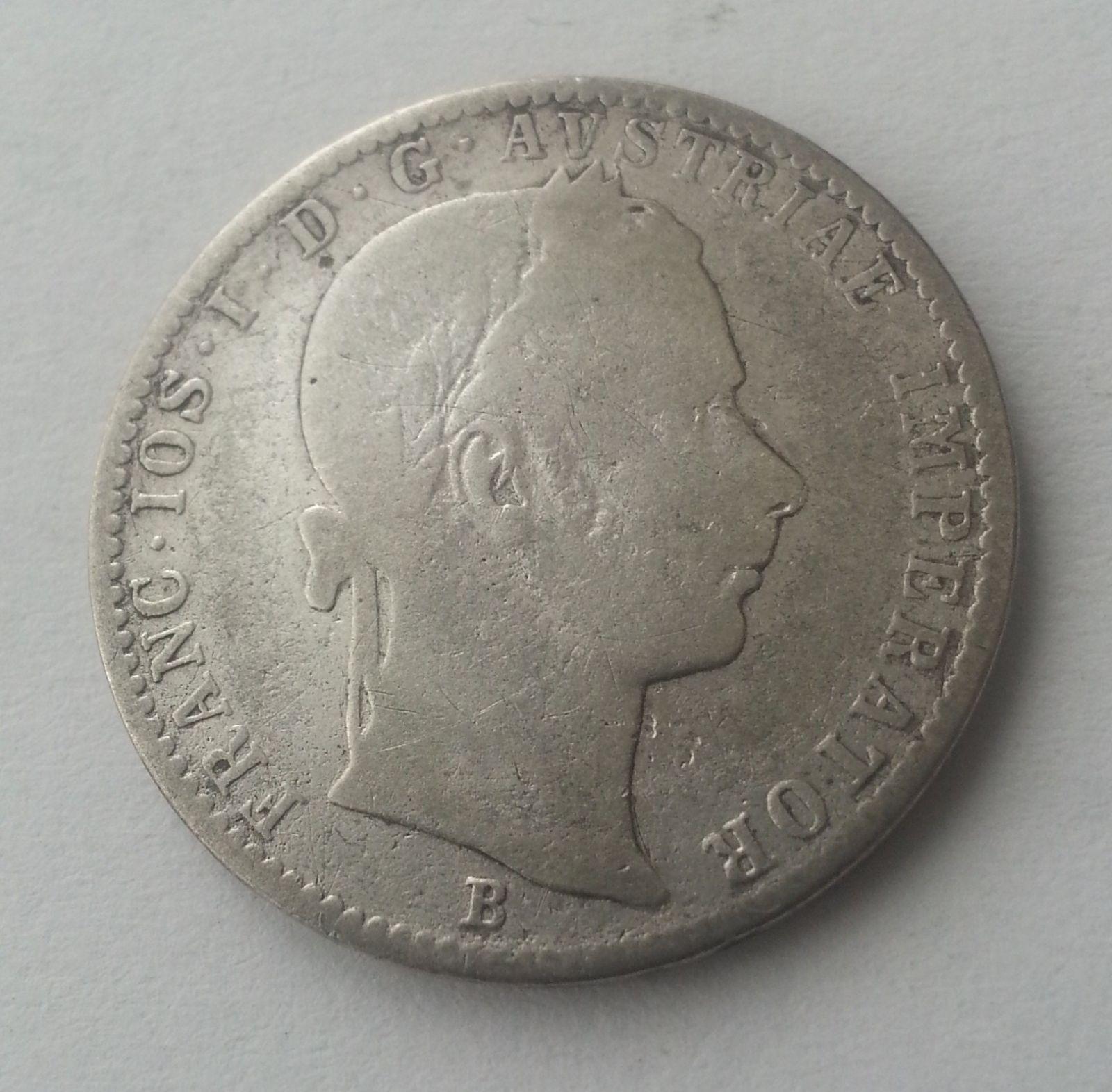 1/4 Fl.,1862, B, Uhry