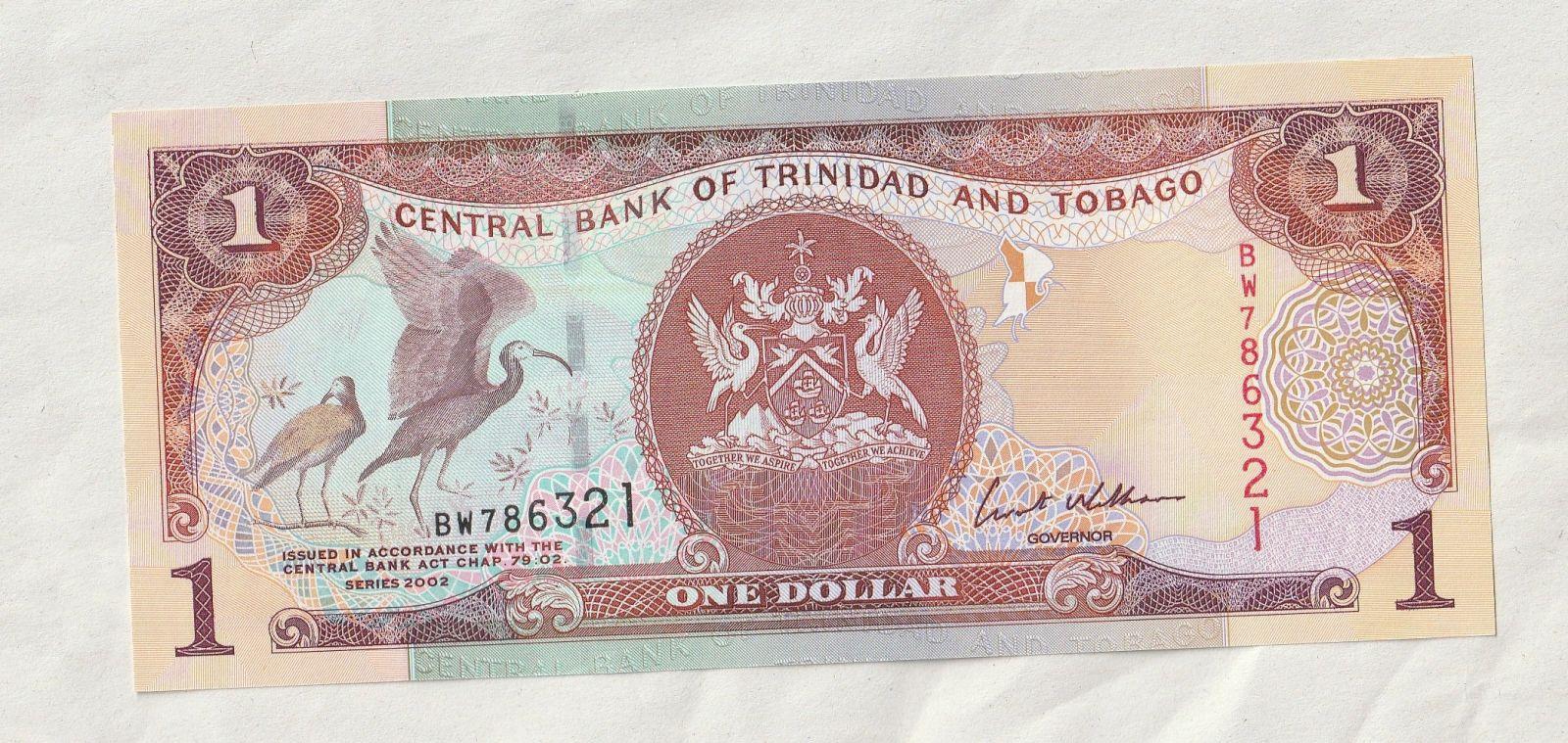 1 Dollar, 2002, Trinidad a Tobago