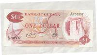 1 Dollar, kombajny, Guyana