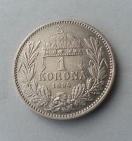 1 Koruna, 1894, KB, Uhry, STAV!