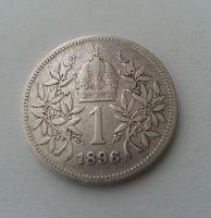 1 Koruna, 1896, Rakousko