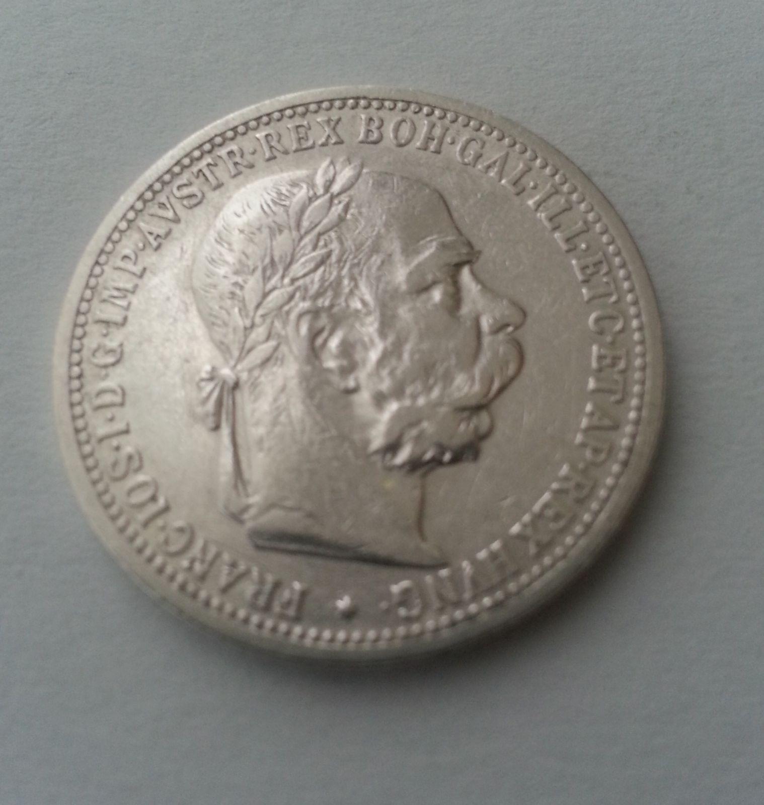 1 Koruna, 1902, Rakousko, STAV!