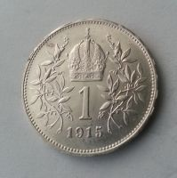 1 Koruna, 1915, Rakousko