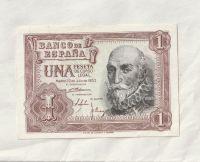 1 Peseta, 1953, Španělsko