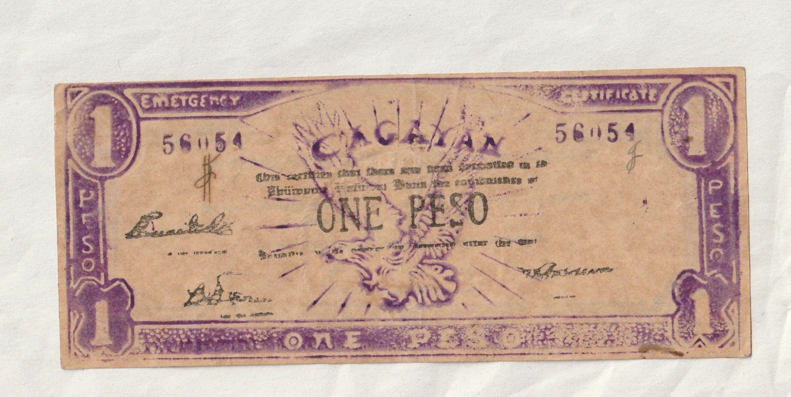 1 Peso, fialová, Filipíny