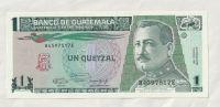 1 Quetzal, 1991, Guatemala
