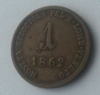 1 Soldo, 1862, A, Rakousko