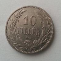 10 Filler, 1893, KB, Uhry, STAV!