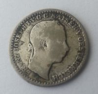 10 Krejcar, 1859, V, Rakousko