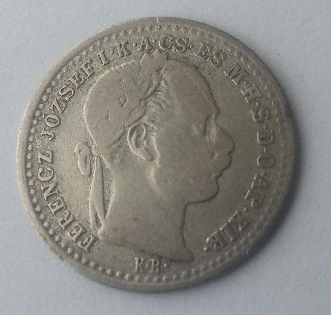 10 Krejcar, 1870,KB, Uhry