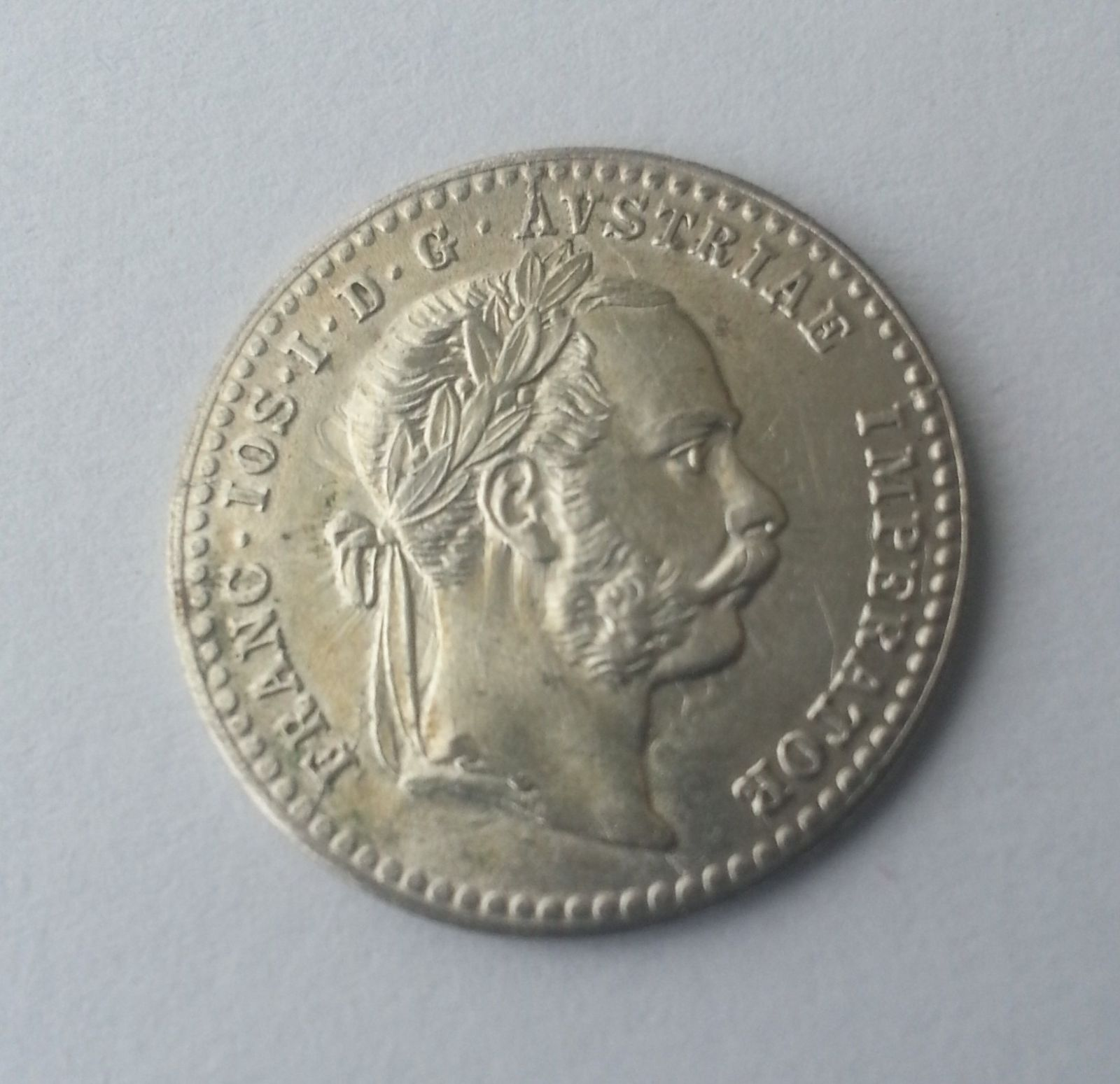 10 Krejcar, 1872, Rakousko