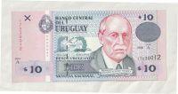 10 Pesos, 1998, Uruguay